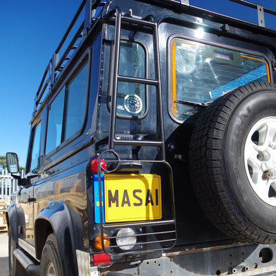 Masai Design Rear Roof Access Ladder for Land Rover Defender 90 / 110