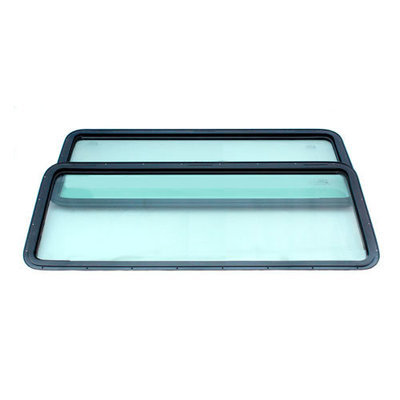 Green Fixed Side Windows for Defender 200TDi/300TDi and TD5
