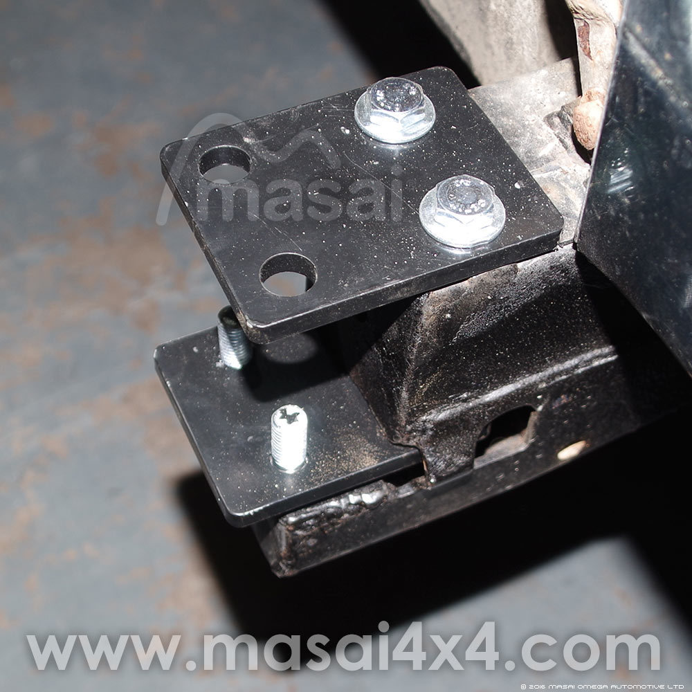 OPTIONAL - Extension Brackets for Air Con Vehicles