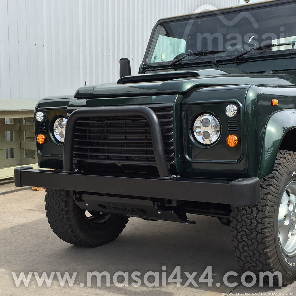 Nudge Bar (A Bar / A Frame) for Off-roading Land Rover Defenders MAS-37-N-BAR