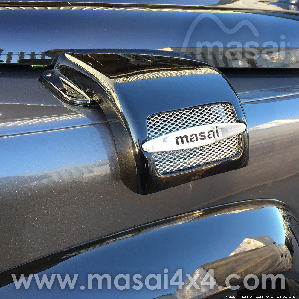 Style 3 - Masai Air Intake Cover for Land Rover Defenders