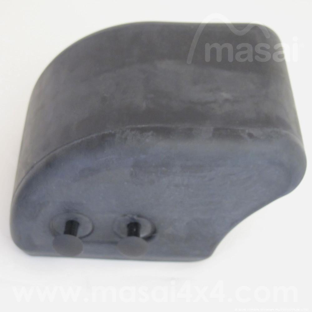 Defender Bumper Rubber End Caps - DPT100070