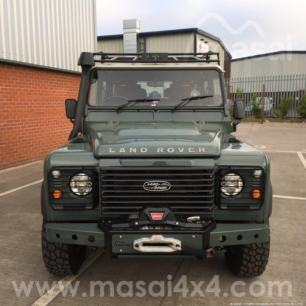 2008 Land Rover Defender Puma Tdci Keswick Green
