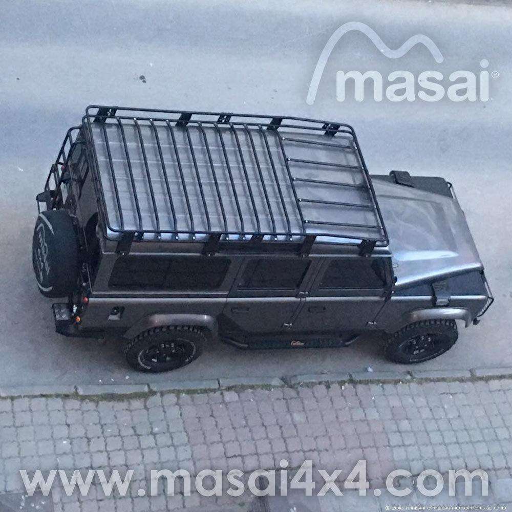 2.8m Masai Tubular Land Rover Roof Rack