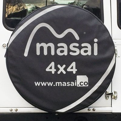 Spare Wheel Cover - Masai Design (Vinyl Leather)