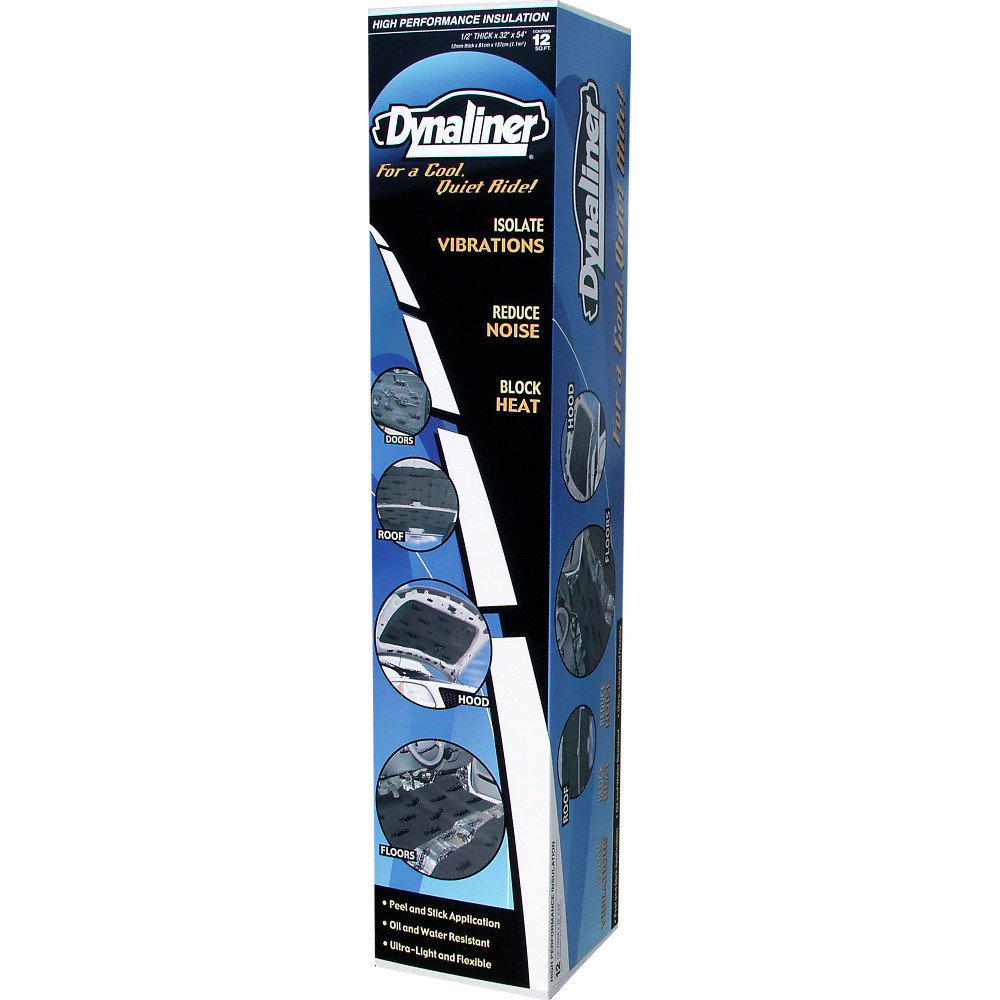 DYNAMAT Dynaliner (1/2 inch) Heat and Sound Insulation (1 sheet per box) DYN11103