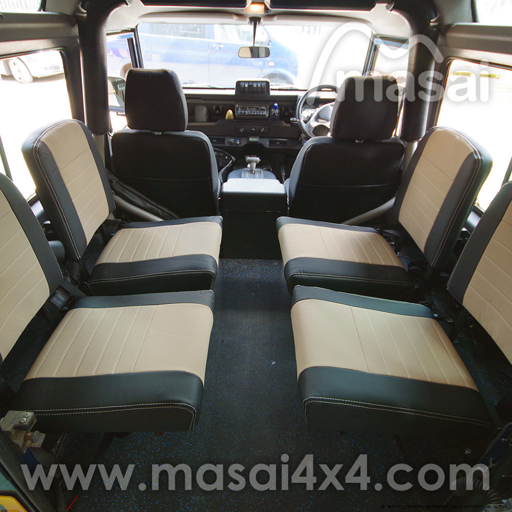 Inward Facing Seat Cover For Land Rover Defender 89 07