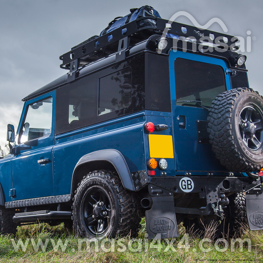 Sliding Masai Panoramic Tinted Windows for Land Rover Defender 90 PANORAMICS-90S