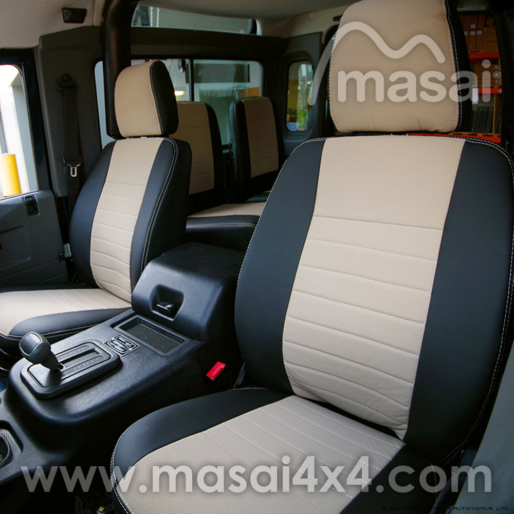 Fabulous Seat Covers For Land Rover Defender 90 110 Td5 200Tdi 300Tdi Deluxe Caraccident5 Cool Chair Designs And Ideas Caraccident5Info