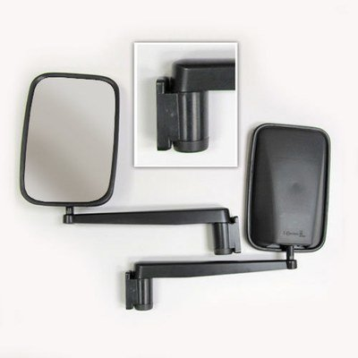 Extra Long Arm Wing Mirrors for Land Rover Defender (Pair)