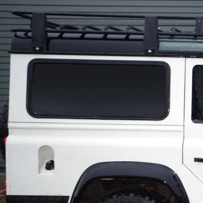 Fixed Side Windows for Defender Puma/TDCi - In Dark, Green & Clear Tints