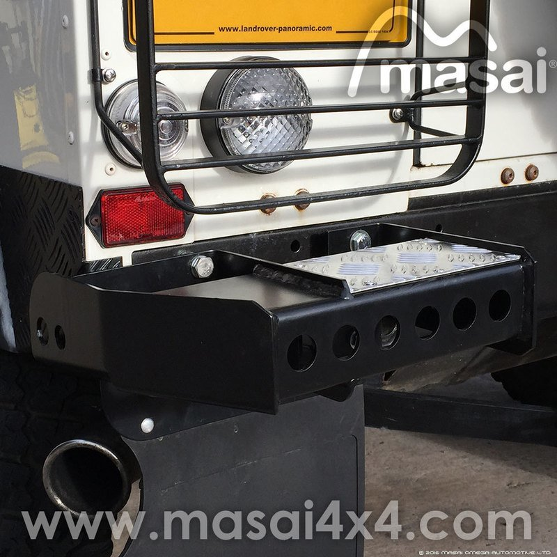 Rear Bumperettes For Land Rover Defender 90 And 110 Pair