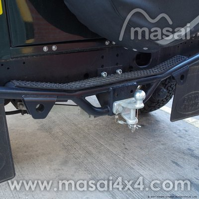 NAS Rear Step for Land Rover Defender 90/110 (Tow Bar/Tow Ball)