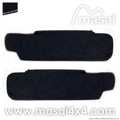 Sun Visor Covers for Land Rover Defender (4 Styles) - PAIR