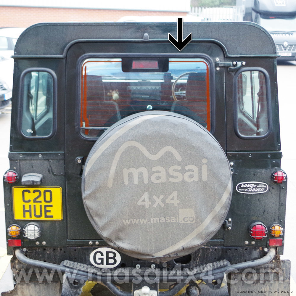 Fitted (Photo is of Land Rover Glass, for demonstration only)