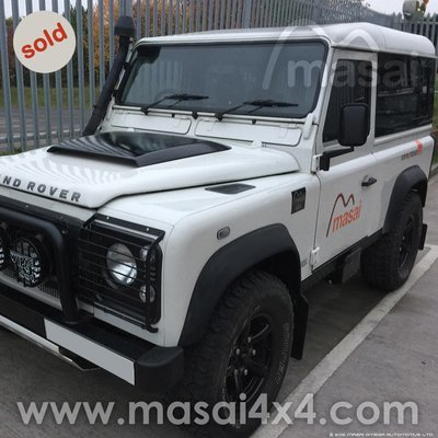 Land Rover Defender 90 - White - SOLD