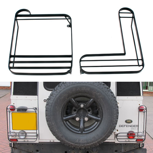 Rear Lamp Guards for Land Rover Defender (Left/Right or PAIR) STC53157