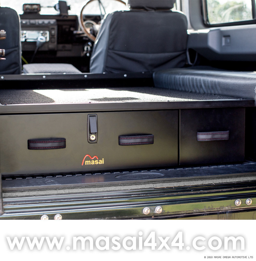 Sporting Box / Rear Lockable Storage Drawers for Land Rover Defender Sportingbox