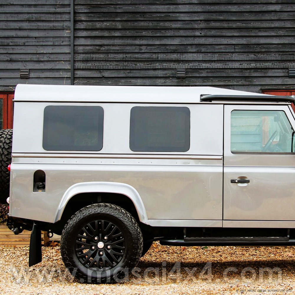 Blind Spot Side Windows (Fixed) for Land Rover Defender 90 / 110 Hard Top / Panel Van - PAIR LRD-BSW