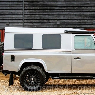 Blind Spot Side Windows (Fixed) for Land Rover Defender 90 / 110 Hard Top / Panel Van - PAIR