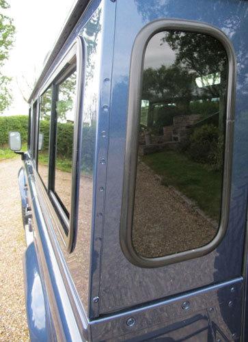 KIT - Dark Tint SLIDING Side Windows + Quarters & Rear Glass - Defender 200TDi/300TDi, TD5 & PUMA