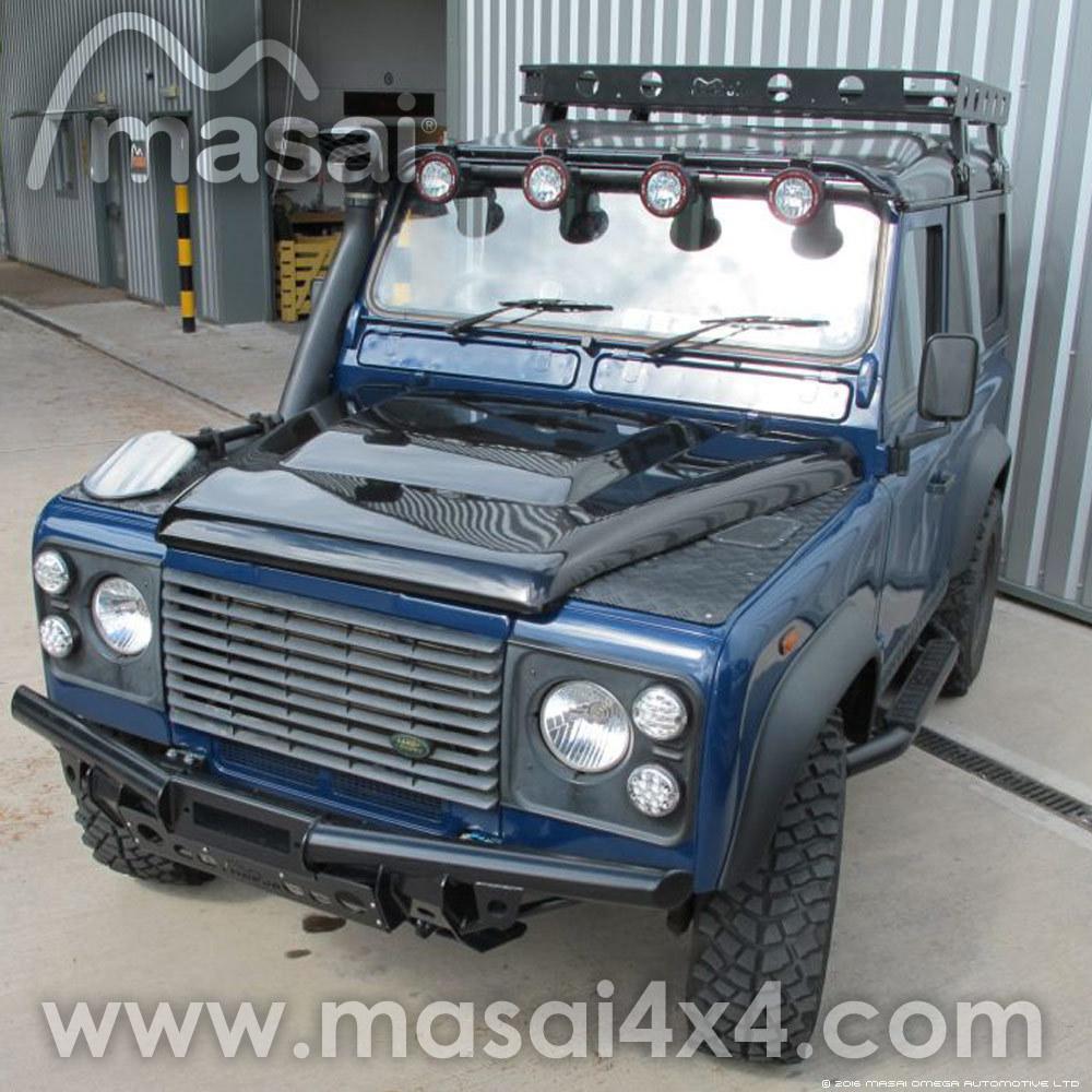 Puma Style Bonnet for Land Rover Defender - GRP Fibreglass