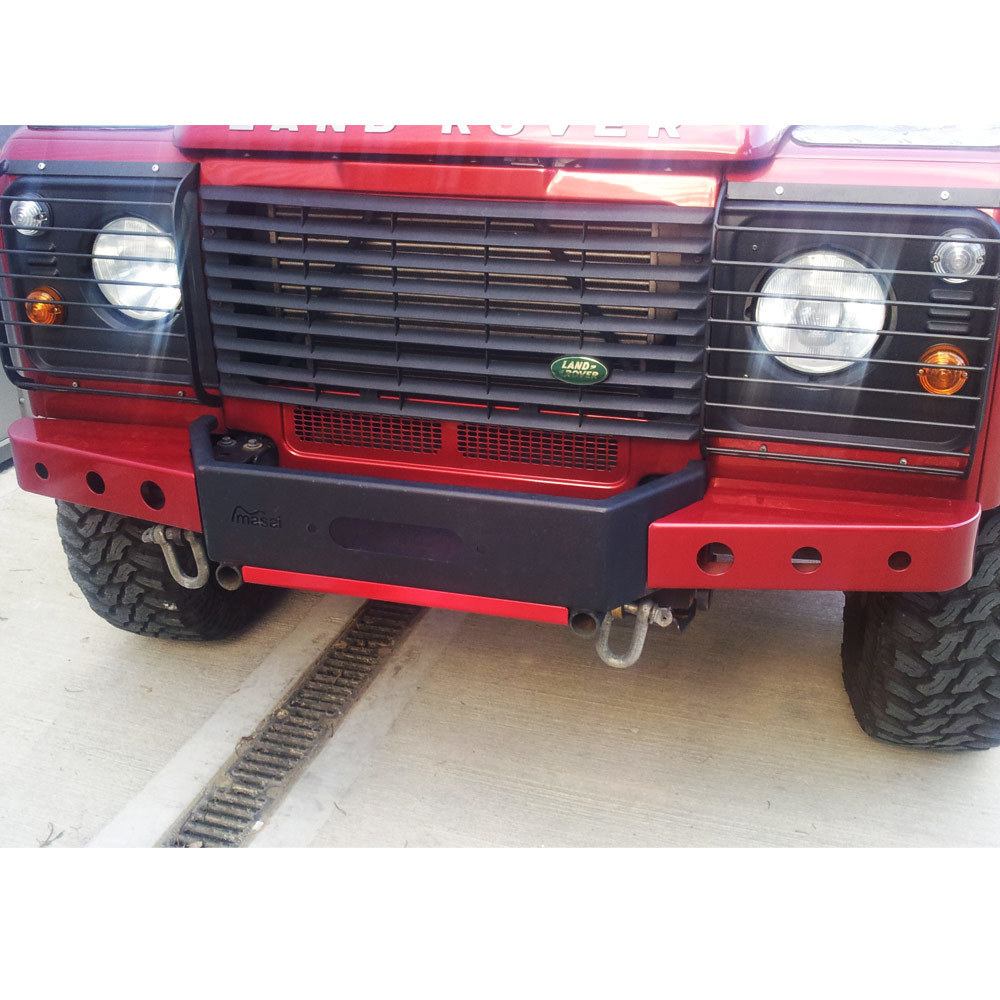 Painted in Black and Red to match Vehicle 2