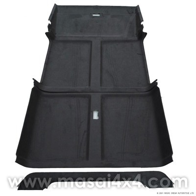 Headlining / Rooflining Kit for Land Rover Defender 110 with Sun Visor Covers
