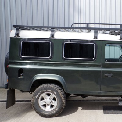 810mm x 477mm Camper-Style Side Window - DARK tint