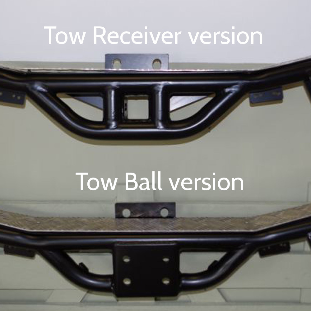 Two versions - NAS style Rear Step