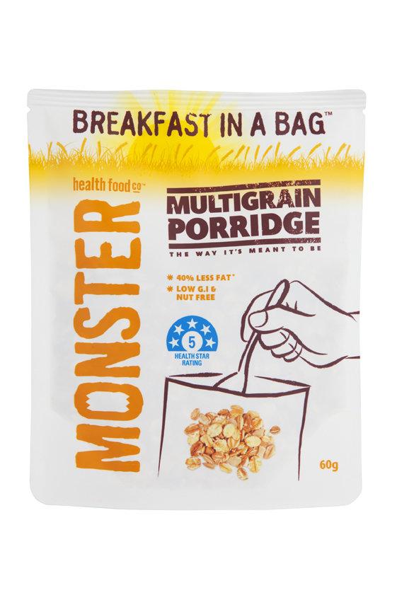 10 x 60g - Breakfast in a Bag Multigrain Porridge