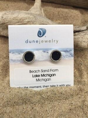 DU HampRope Stud Earrings