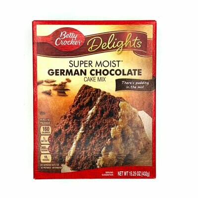 Betty Crocker Delights Super Moist German Chocolate Cake Mix
