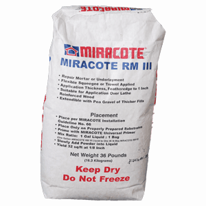 Repair Mortar RM 3 Gray Powder 36 LB Bag