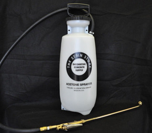 3 Gallon Acetone Spray Kit w/ 2 Tips
