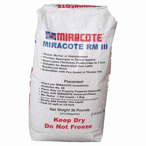 Repair Mortar RM 3 Gray Powder 36 LB Bag