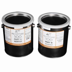 Poly 100 Clear Kit 1.5g 2a:1b UVR