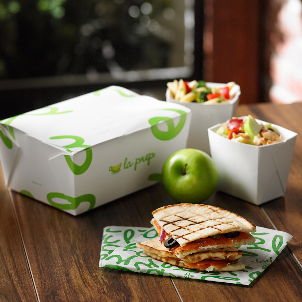 Pita Sandwich Lunch Box