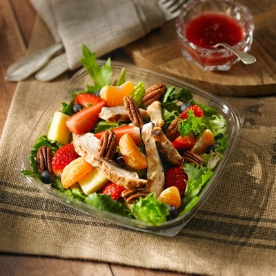 Fruit Medley with Grilled Chicken