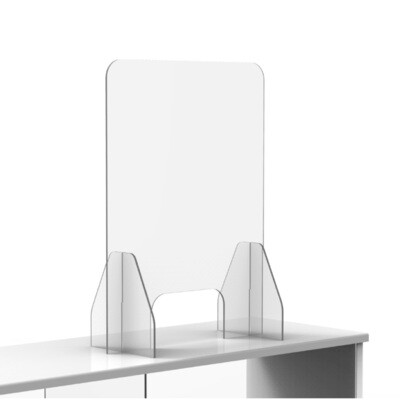 Countertop Protective Shields Acrylic 3/16 in
