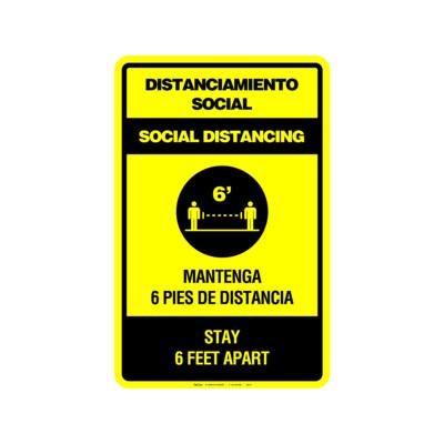 DISTANCIAMIENTO SOCIAL (BILINGÜE)