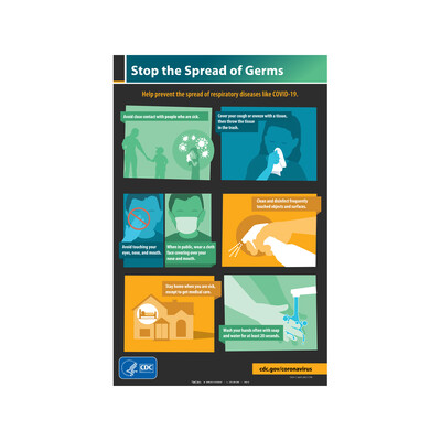 CDC - STOP THE SPREAD OF GERMS