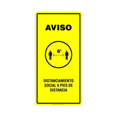 Rótulo - CROUD CONTROL (DISTANCIAMIENTO SOCIAL)