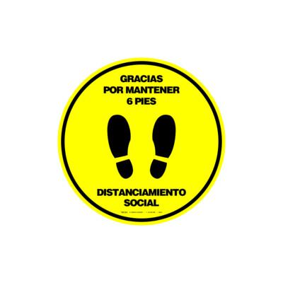 GRÁFICOS DE PISO - DISTANCIAMIENTO SOCIAL (FLOOR GRAPHICS)