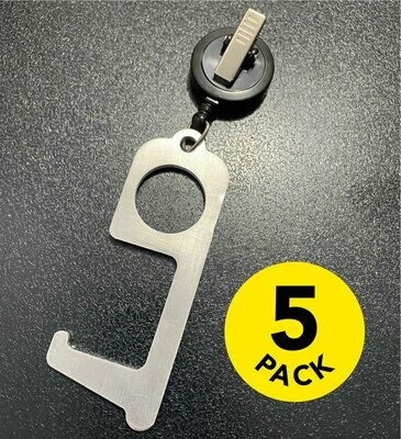 Hygienic Door Opener and Multi-use Tool (Set of 5)