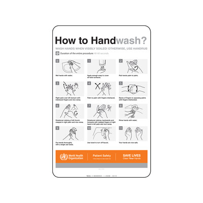 OMS- HOW TO HAND WASH? (INGLES)