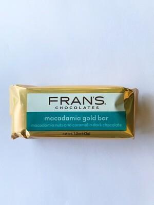 Fran's Chocolates Macadamia Gold Bar