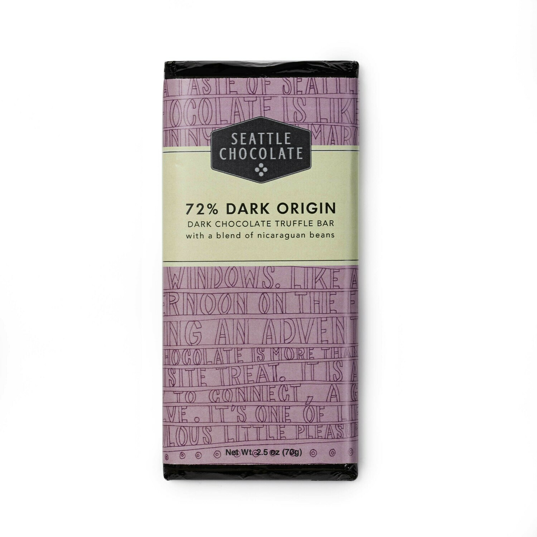 Classic Dark 72% Truffle Bar
