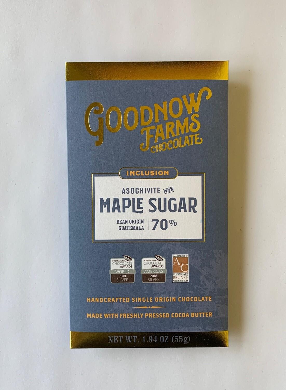 Asochivite With Maple Dark Chocolate Bar