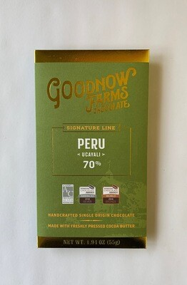 Peru Ucayali Dark Chocolate Bar